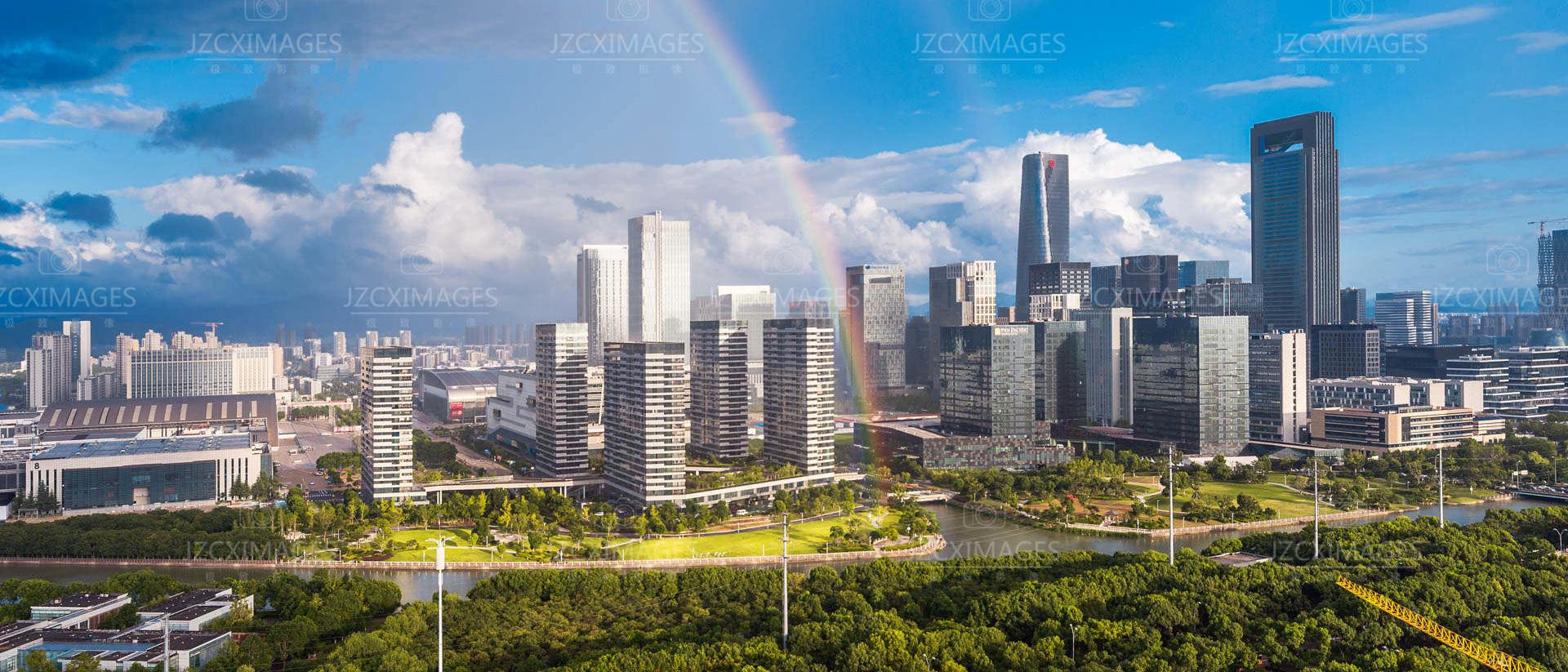 宁波东部新城建筑摄影